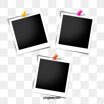 Polaroid clipart pinned. Png images vector and