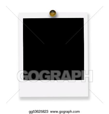 Stock illustrations film . Polaroid clipart pinned