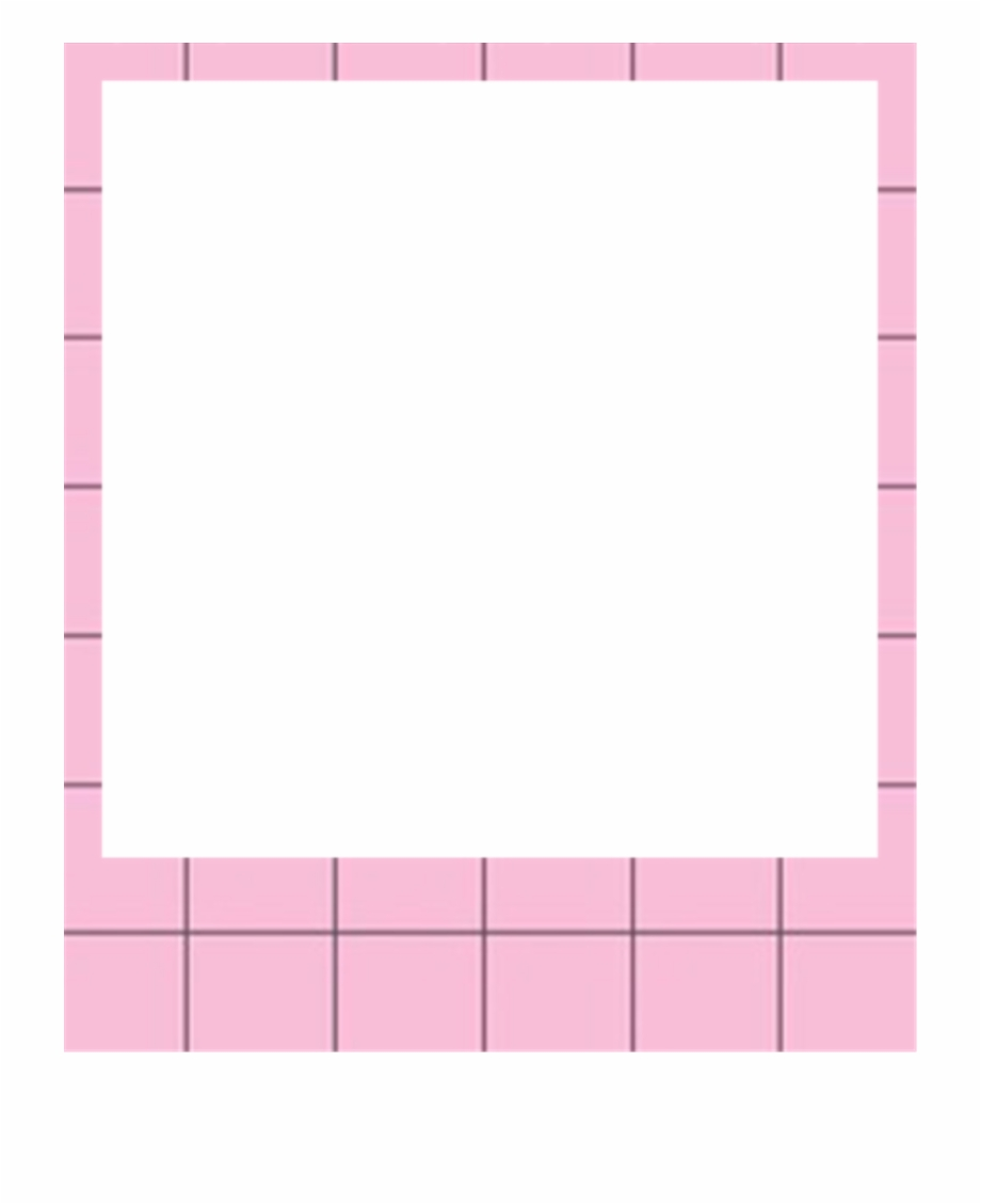Picture png pink free. Polaroid clipart transparent tumblr