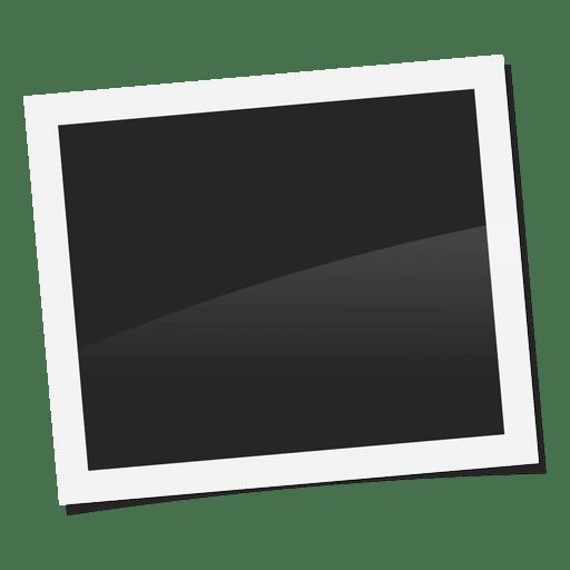 Polaroid frame png. Photo transparent svg vector