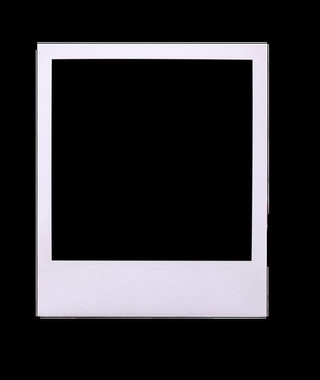 blank for free. Vintage polaroid frame png