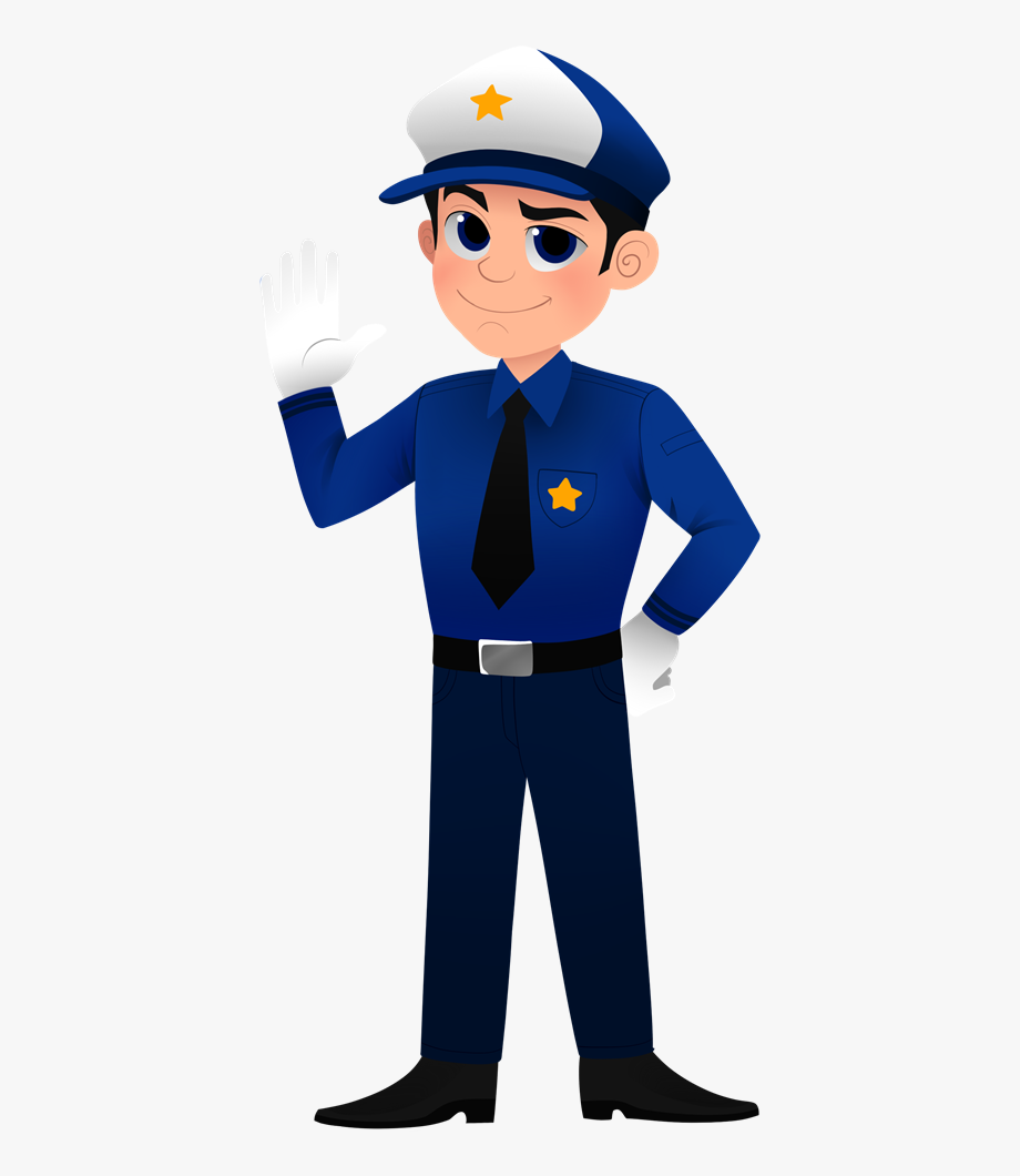 Clip art uniform transparent. Kid clipart police officer