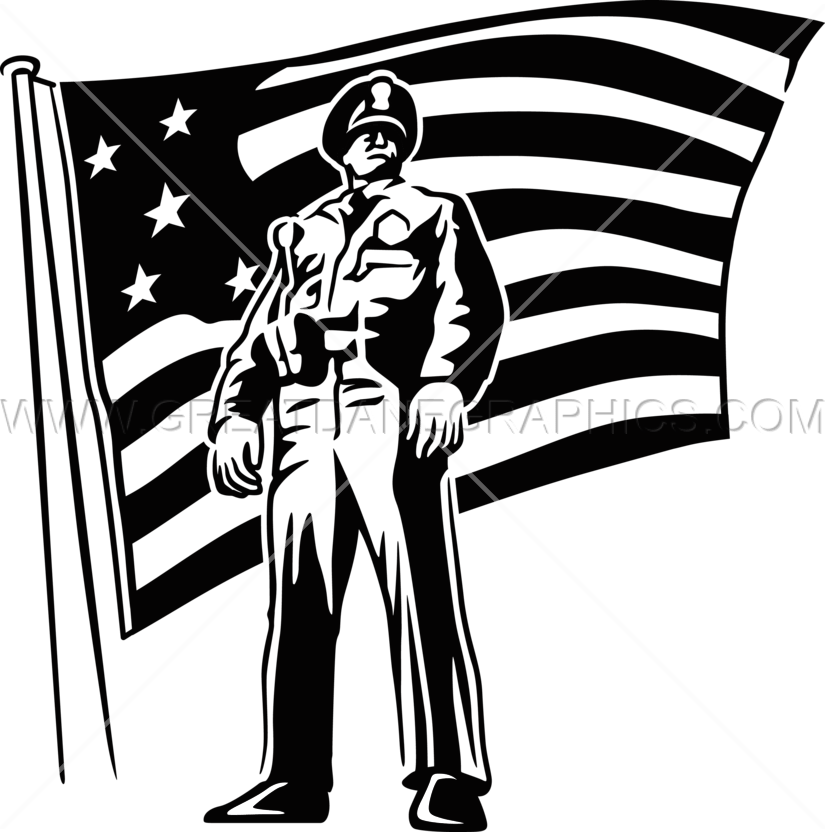 Soldiers clipart officer. Police production ready artwork