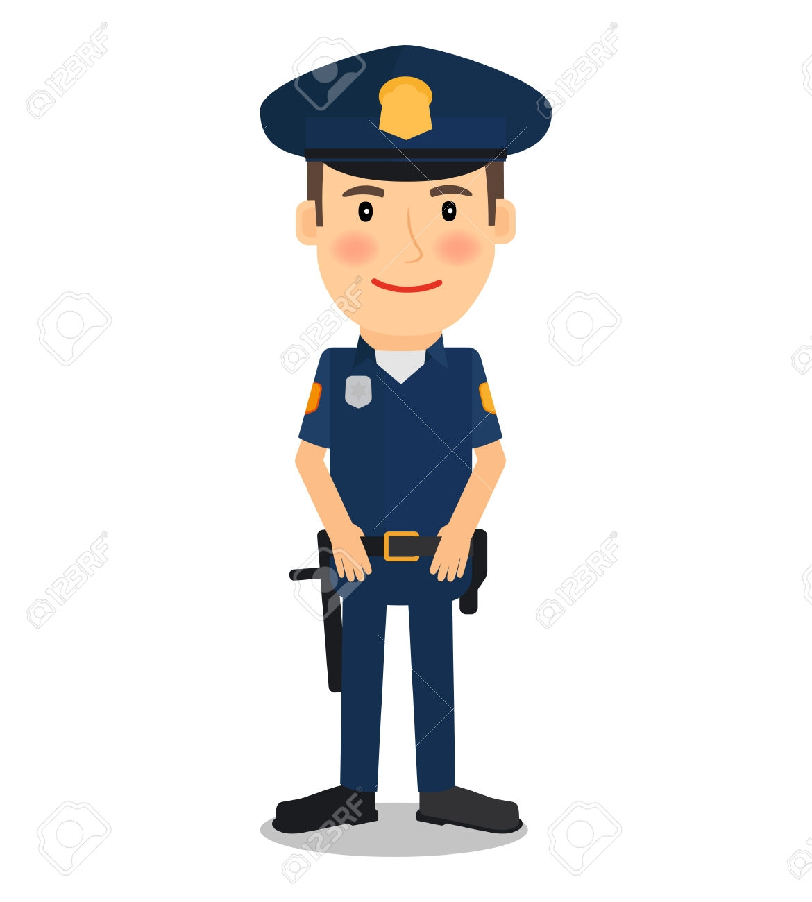 Unique gallery digital collection. Policeman clipart