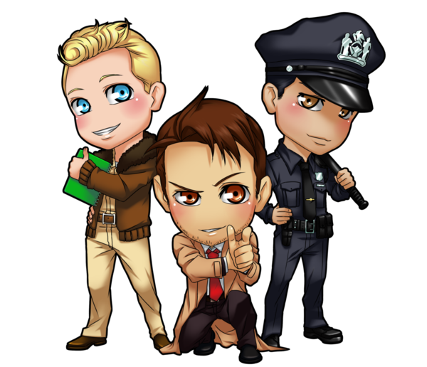Commission shane chris russel. Policeman clipart chibi