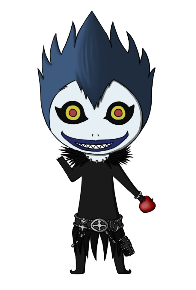 Ryuk is happy by. Policeman clipart chibi