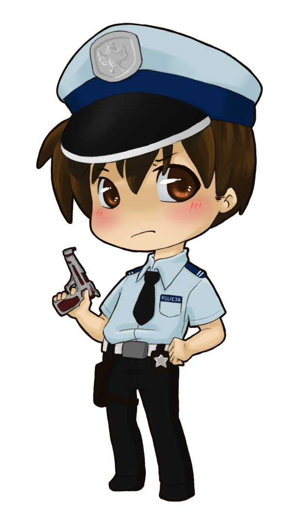 Image gallery of police. Policeman clipart chibi