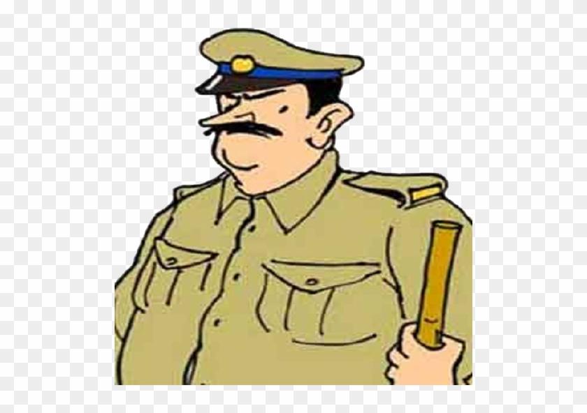 Super cop indian man. Policeman clipart delhi police