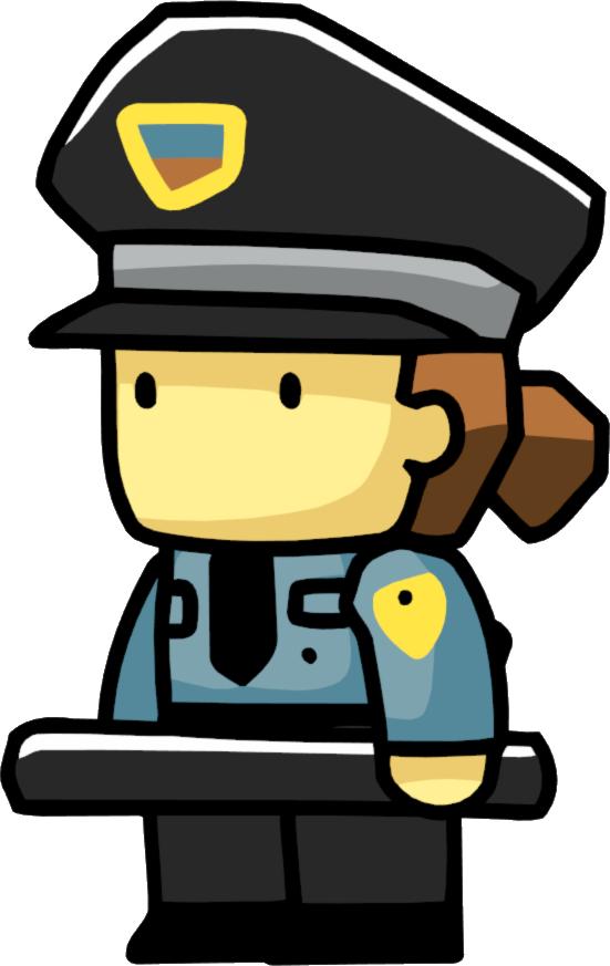 Security scribblenauts wiki fandom. Policeman clipart jail guard