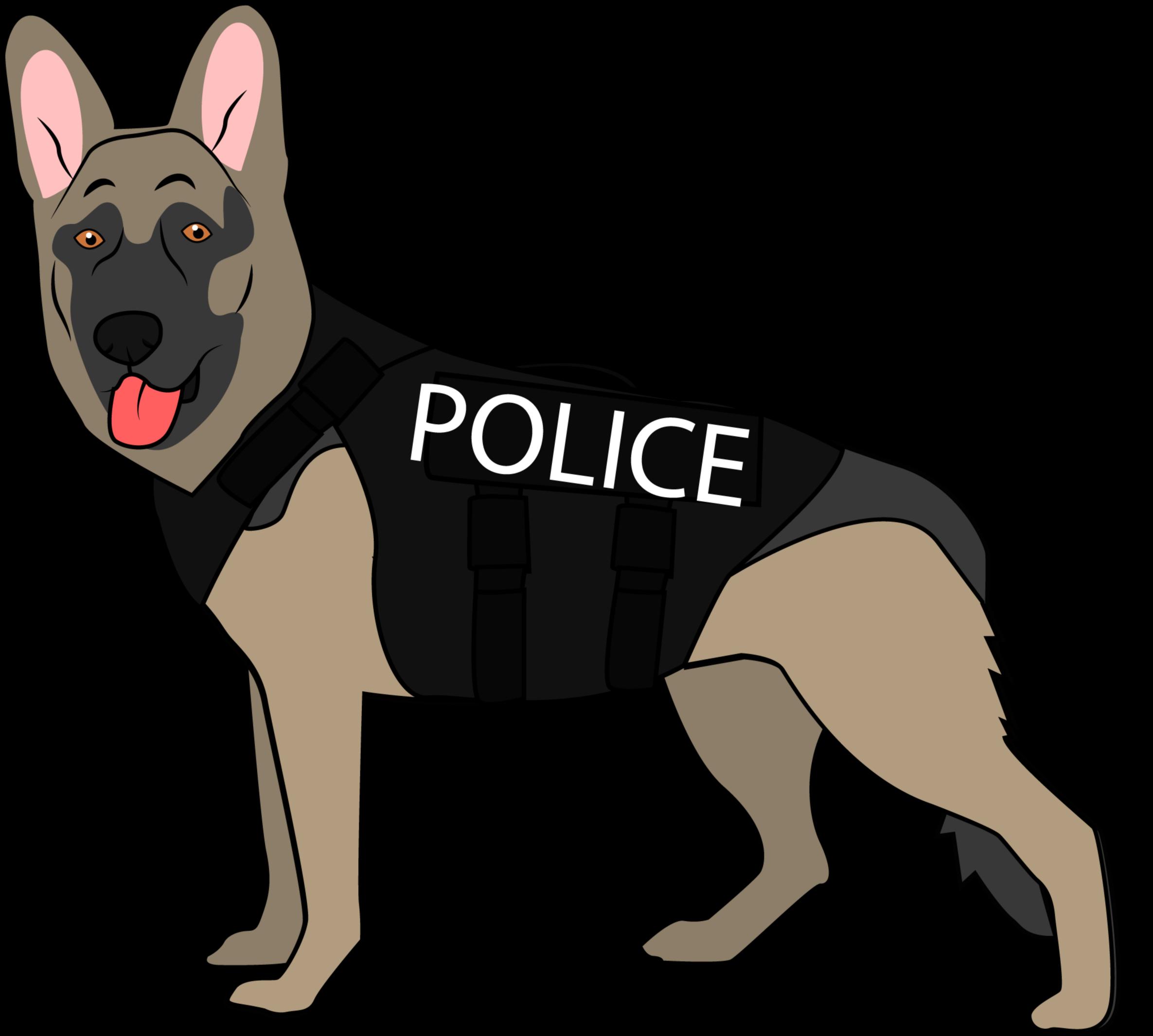 K police old german. Policeman clipart k9 dog