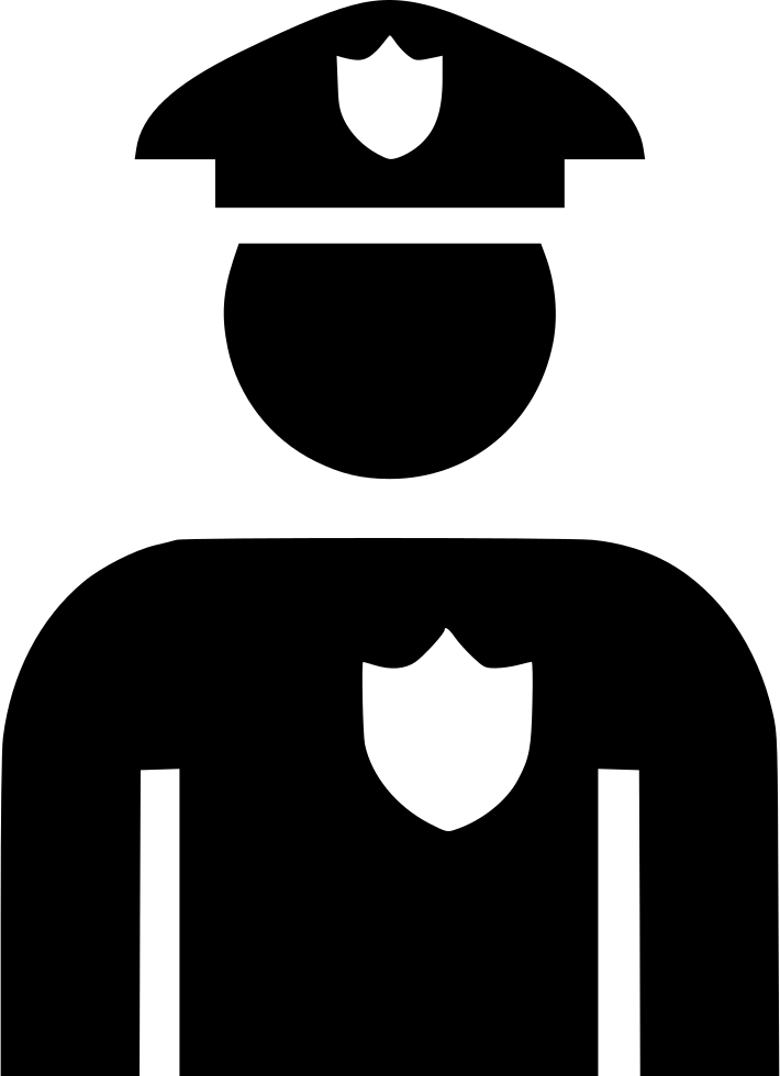 Officer svg png icon. Policeman clipart police suit