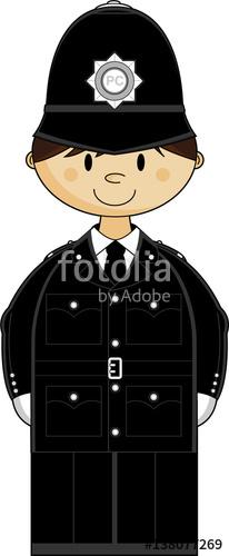 Cartoon stock image and. Policeman clipart policeman british