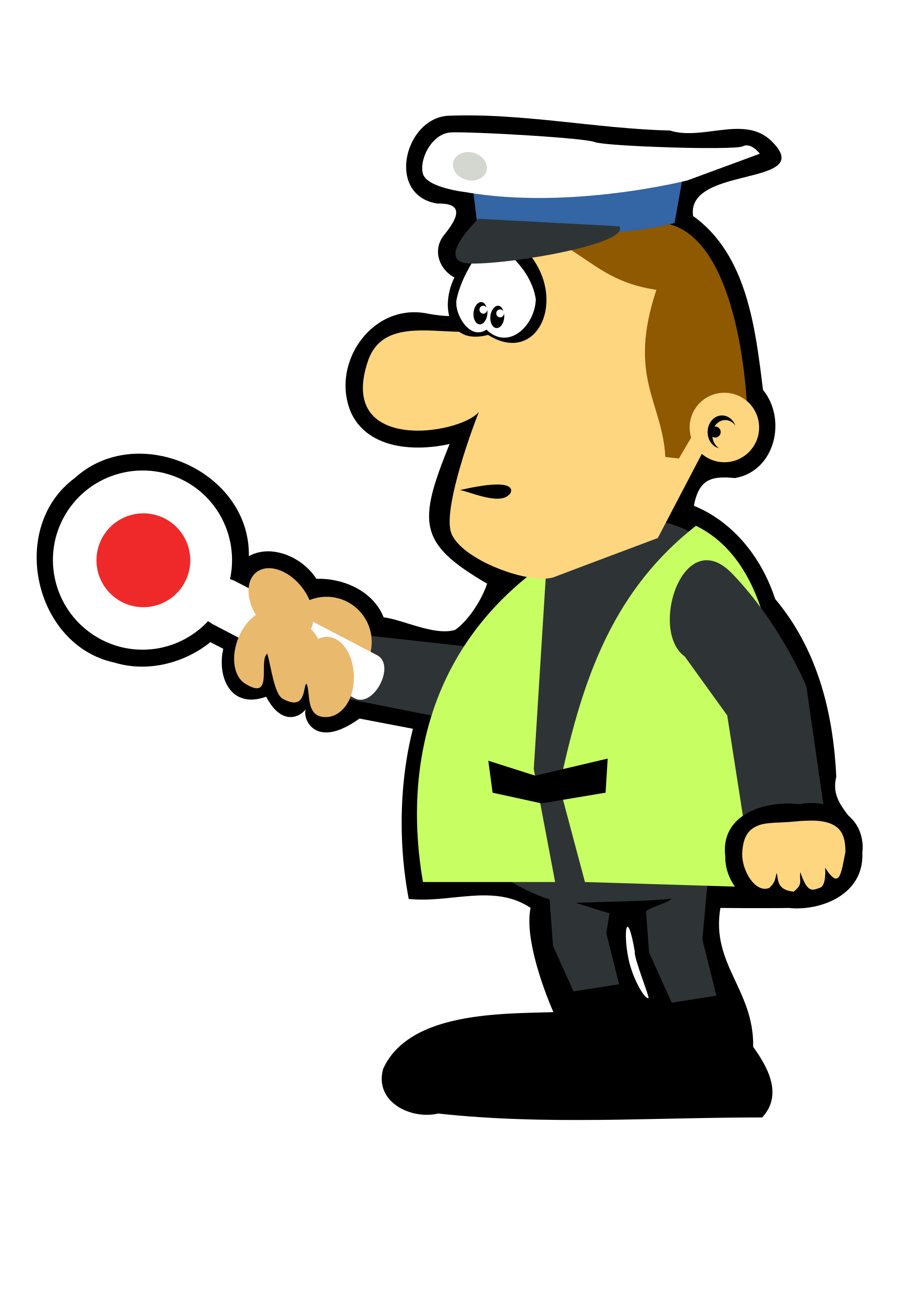 File by mimooh svg. Tool clipart policeman