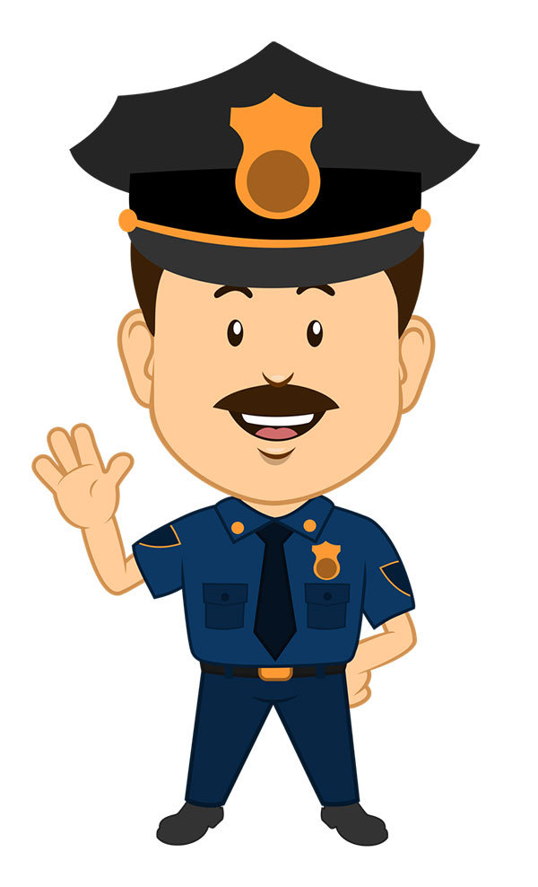Policeman clipart. Police clip art free