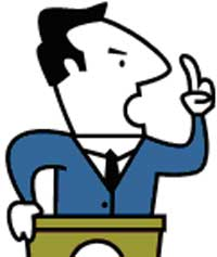 Man panda free images. Politician clipart