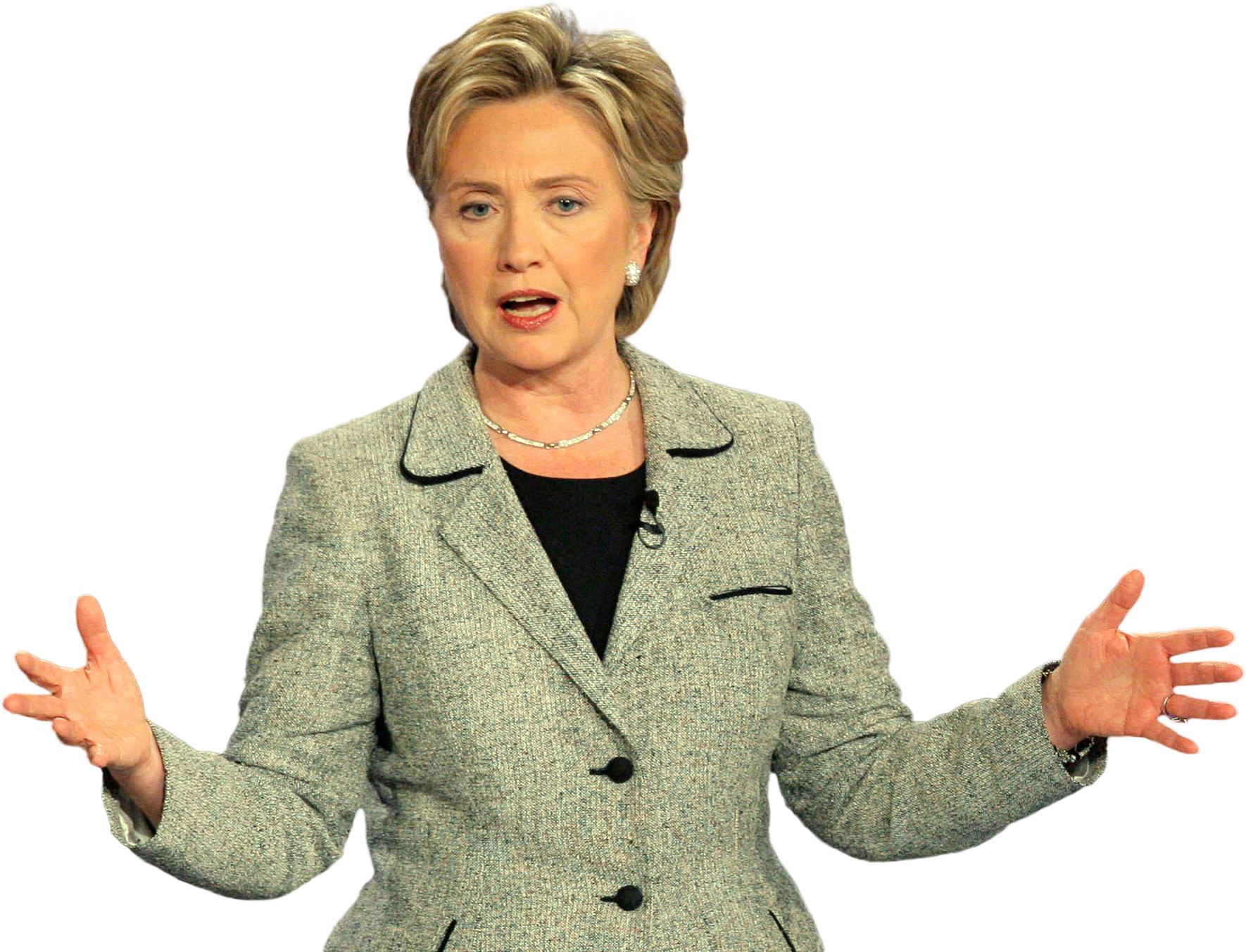 Hillary png images free. Politician clipart clinton