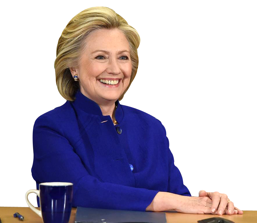 Politician clipart clinton. Hillary png