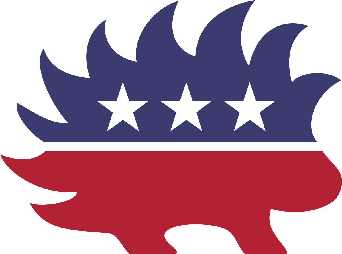 Usa clipart strong state government. Libertarian party united states