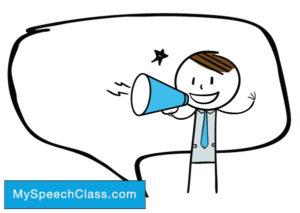 Politician clipart persuasive speech.  good topics for