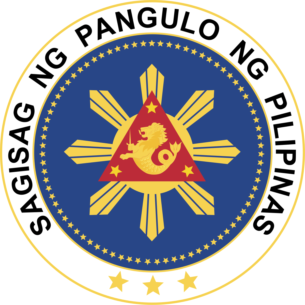 Politician clipart president podium. Seal of the philippines