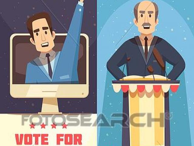 Politics x free clip. Politician clipart president podium