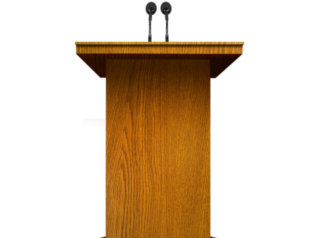 Politician clipart president podium. Politics x free clip