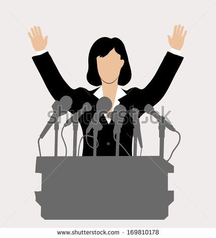 Image result for women. Politics clipart