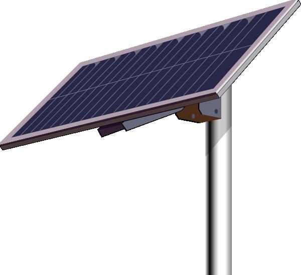 Politics clipart panel. Solar pole clip art