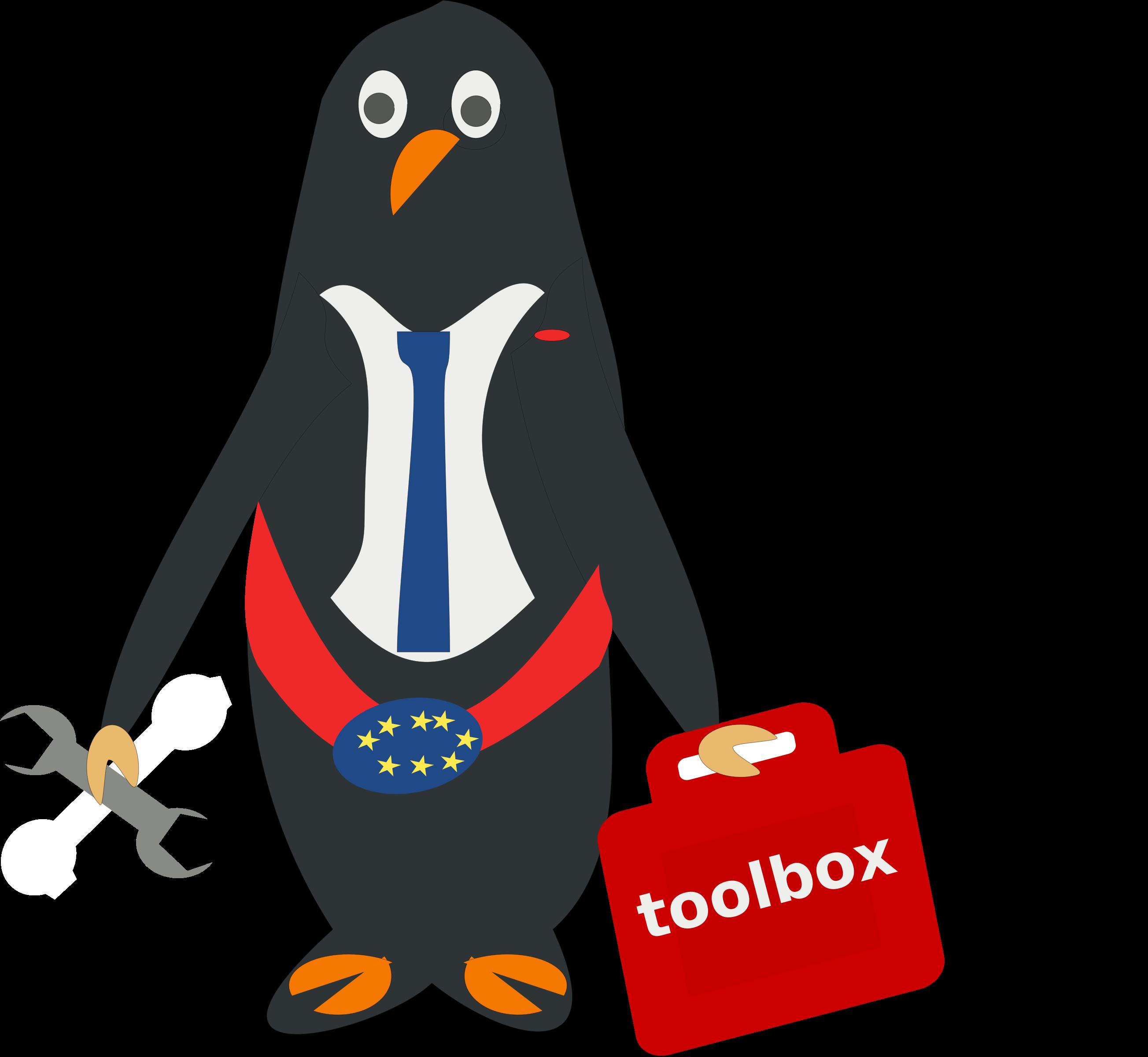Politics clipart president. Of penguins big image