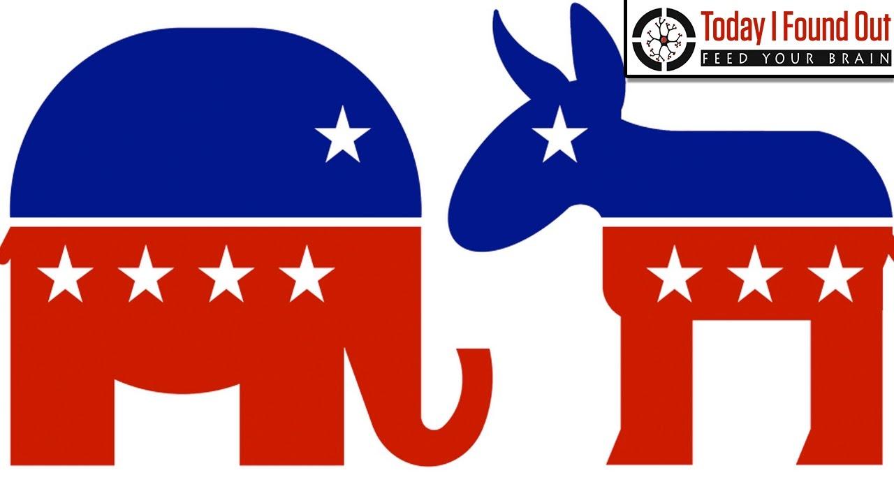 Politics clipart republican democrat. Why do a donkey