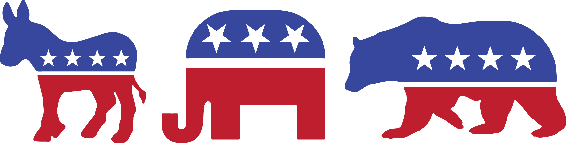 Political free on. Politics clipart republican democrat