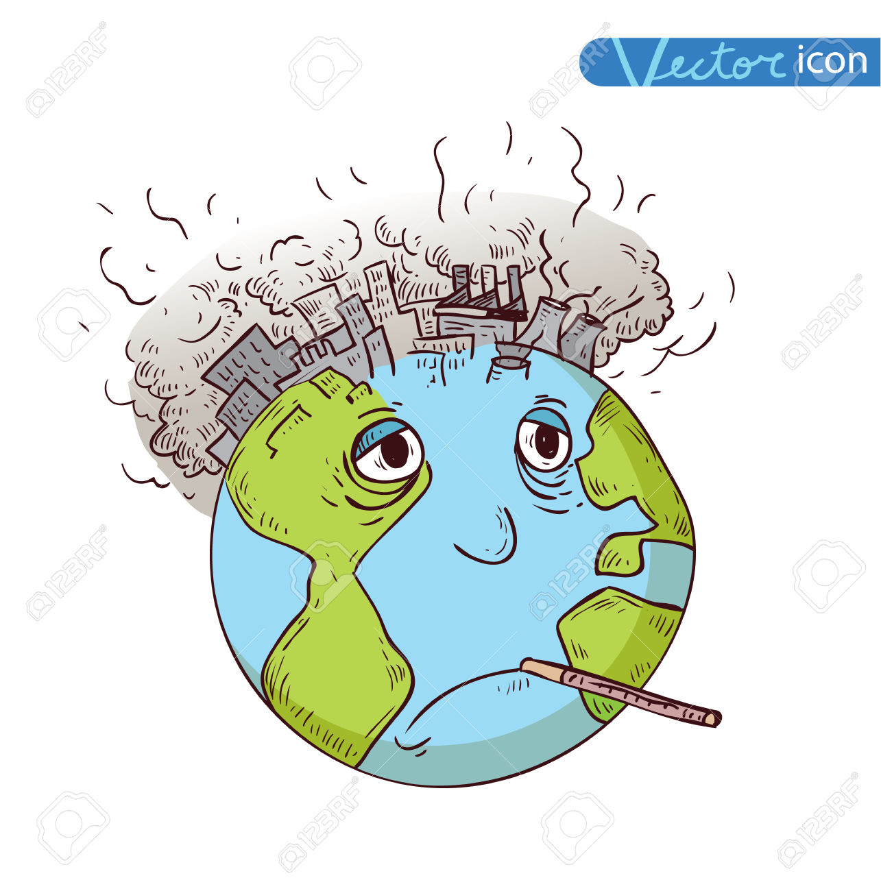 Drawing at getdrawings com. Pollution clipart