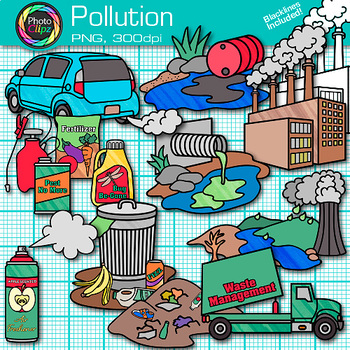 Clip art earth conservation. Pollution clipart