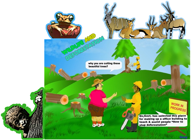 Pollution clipart deforestation.  collection of effects
