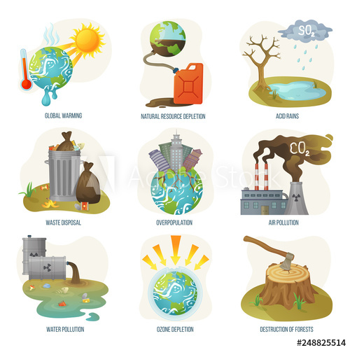 Pollution clipart deforestation. Global warming natural resource