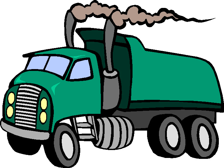 Ten four magazine trucking. Pollution clipart truck