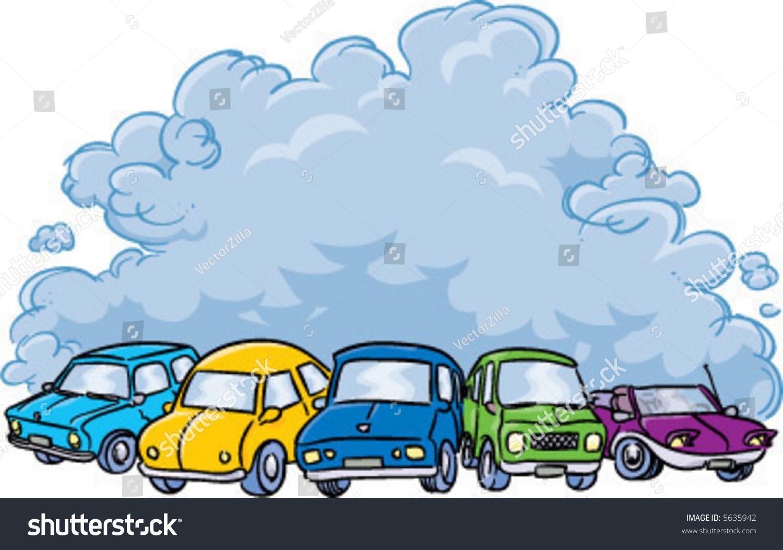 Pollution clipart vehicle pollution. Car