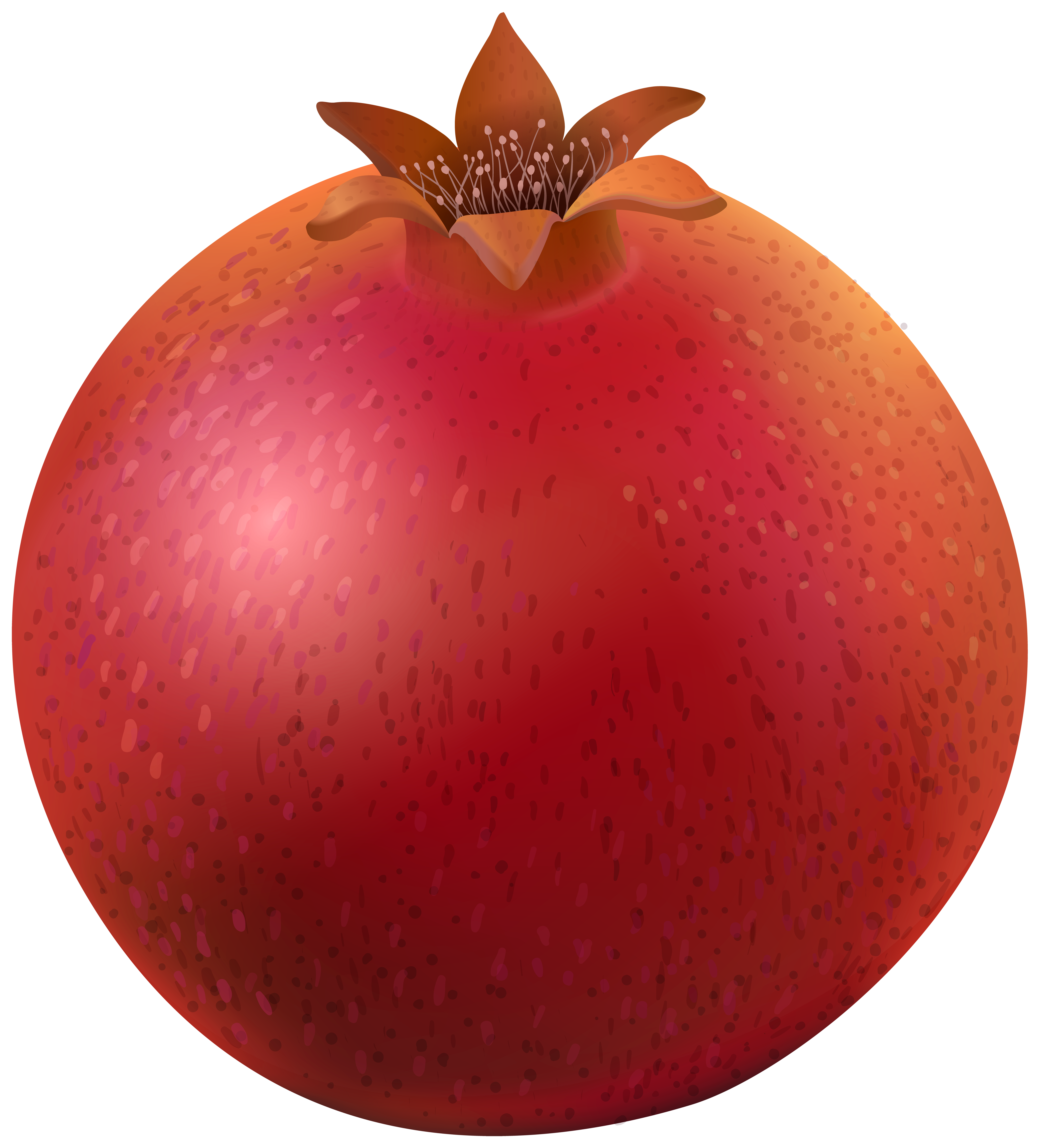 Png clip art image. Pomegranate clipart