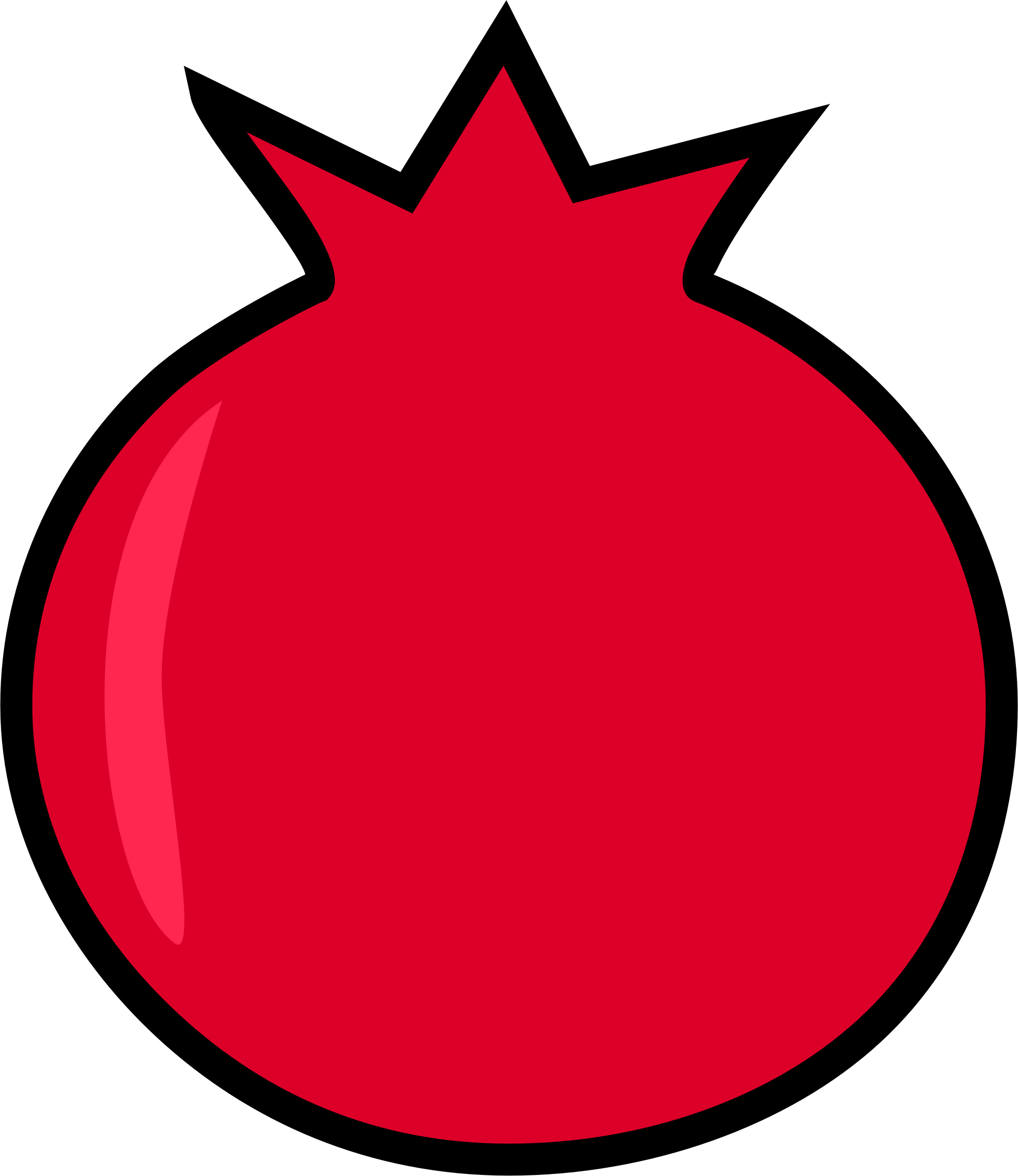 Pomegranate clipart. Big image png