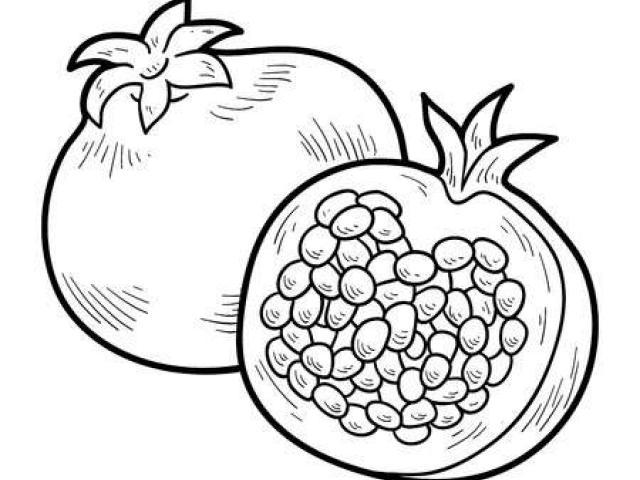 Free download clip art. Pomegranate clipart anaar