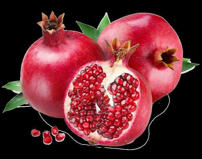 Forgetmenot pomegranates. Pomegranate clipart berry