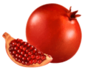 Pomegranate clipart cartoon. Download png photo free