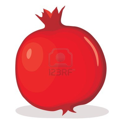 Pomegranate clipart cartoon. Free download best