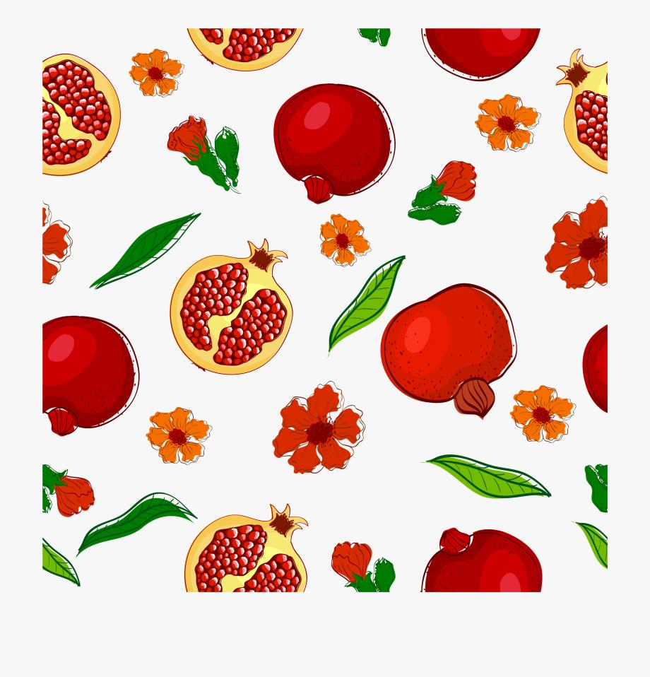 Pomegranate clipart clip art. Library download fruitcake strawberry