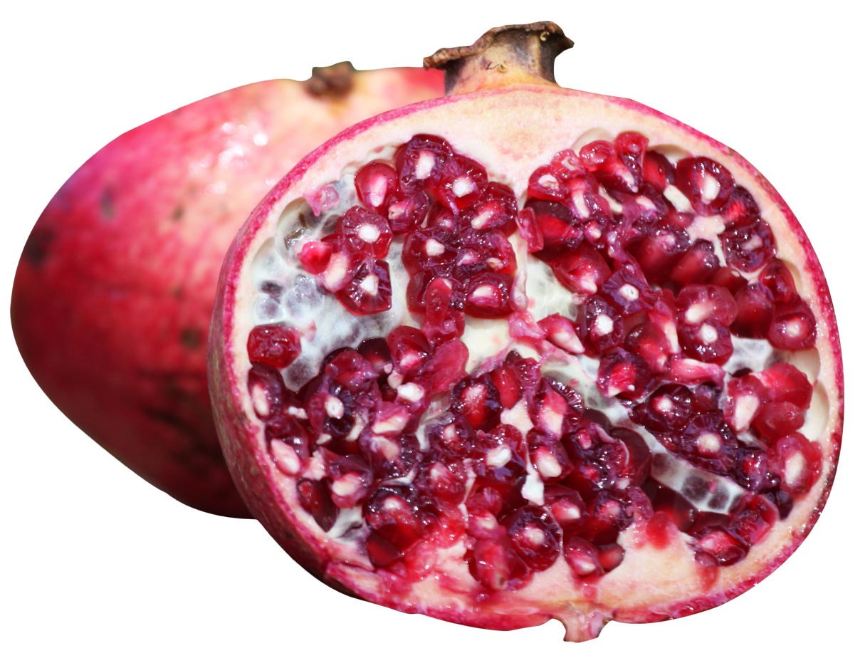 Png image purepng free. Pomegranate clipart half
