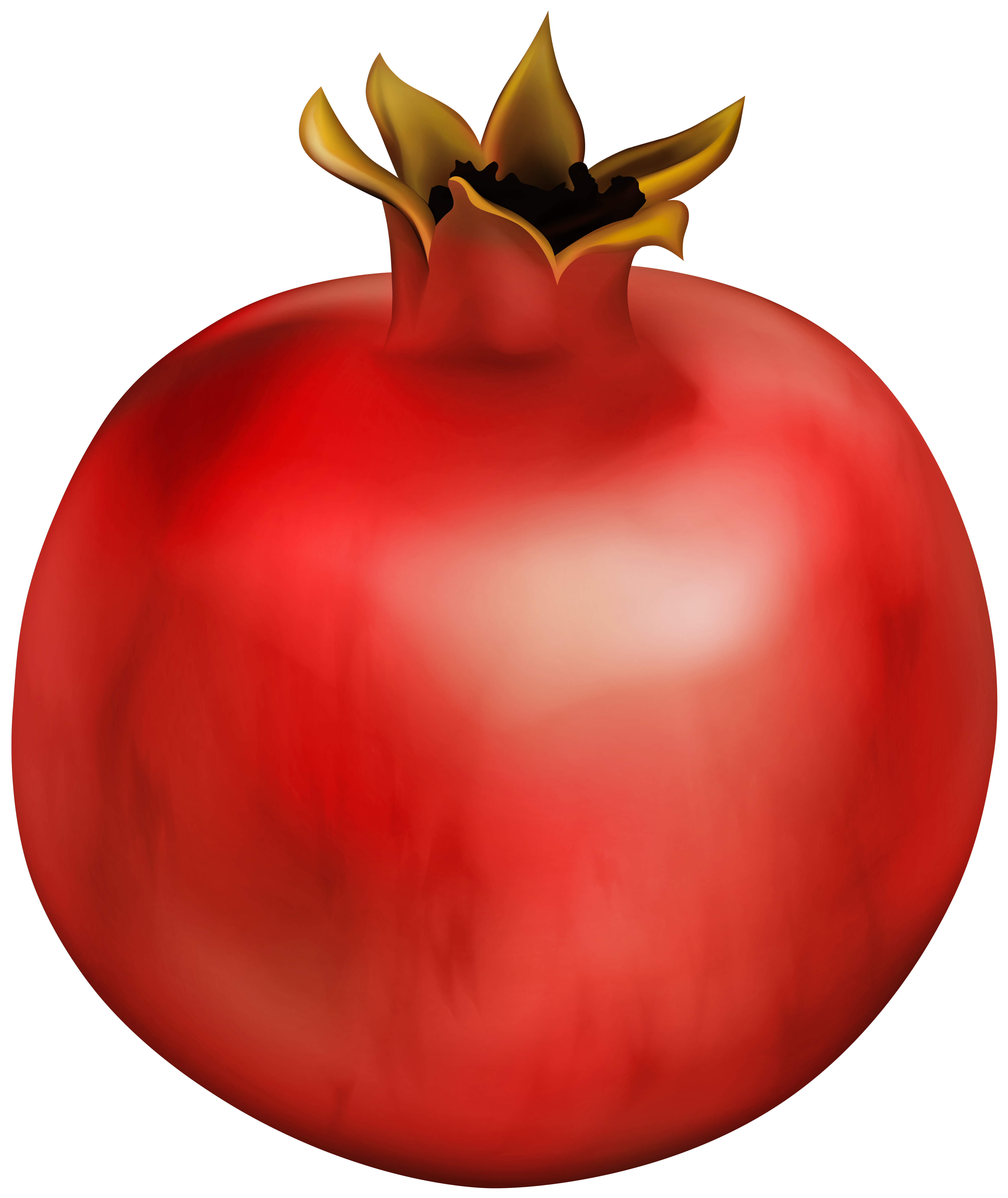 Pomegranate clipart half. Gallery yopriceville high quality