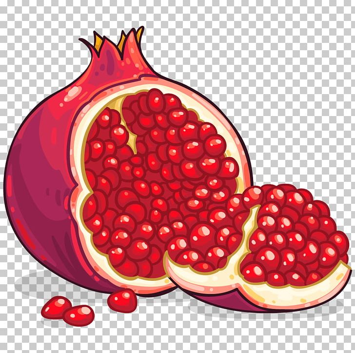 Pomegranate clipart one. Png free download