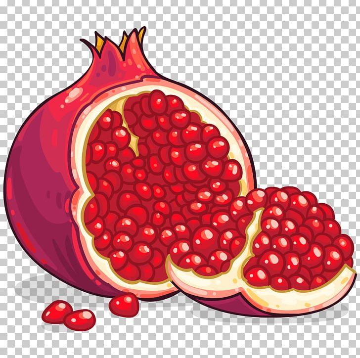 pomegranate clipart one