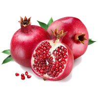 Download free png photo. Pomegranate clipart one