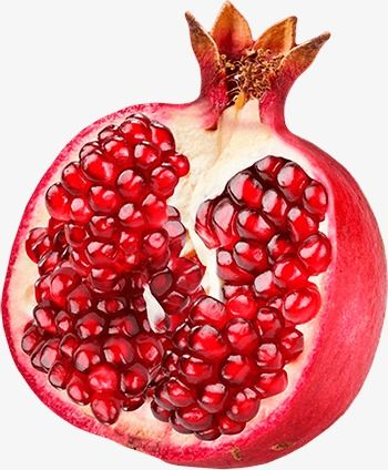 Millions of png images. Pomegranate clipart one